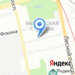 Прокуратура Ленинградской области на карте Санкт-Петербурга