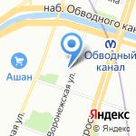 Линзы-в-СПБ.ру на карте Санкт-Петербурга