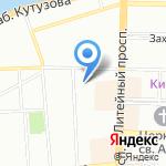 Кухня на карте Санкт-Петербурга