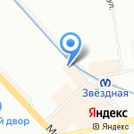 Клякса на карте Санкт-Петербурга