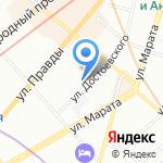 Нотариус Гарин И.В. на карте Санкт-Петербурга