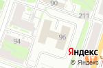 Схема проезда до компании ЭЛМУ в Санкт-Петербурге