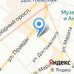 АСКМЕ на карте Санкт-Петербурга