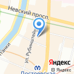 Банк СИАБ на карте Санкт-Петербурга