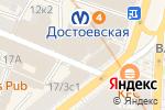 Схема проезда до компании ВВП Легал консалт в Санкт-Петербурге