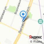 Комитет имущественных отношений г. Санкт-Петербурга на карте Санкт-Петербурга