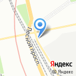 Гидроконструктор на карте Санкт-Петербурга