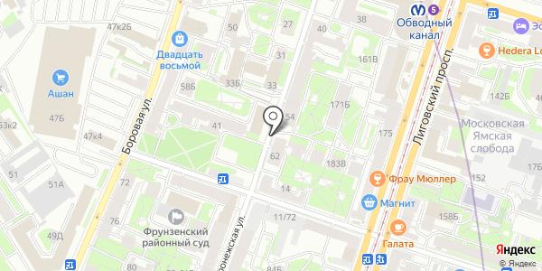 Qiwi. Схема проезда в Санкт-Петербурге