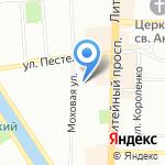 Магазин товаров для ремонта на карте Санкт-Петербурга