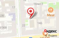 Схема проезда до компании Байкал в Санкт-Петербурге