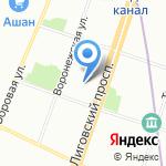 Love Radio на карте Санкт-Петербурга