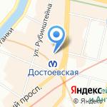 Студия веб-разработок Михаила Кечинова на карте Санкт-Петербурга