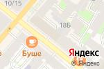Схема проезда до компании Crab Story в Санкт-Петербурге