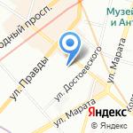РМК на карте Санкт-Петербурга