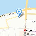 Дзержинец на карте Санкт-Петербурга