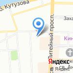 Elena Badmaeva на карте Санкт-Петербурга