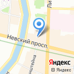 Нарва на карте Санкт-Петербурга