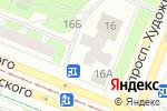 Схема проезда до компании Cosmo в Санкт-Петербурге