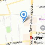 Жилкомсервис №1 Центрального района на карте Санкт-Петербурга