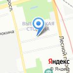 EFFECT на карте Санкт-Петербурга