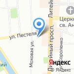Мастерская по ремонту ювелирных изделий на карте Санкт-Петербурга