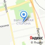 КЕННЕЛ-КЛУБ на карте Санкт-Петербурга