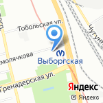 Disaro на карте Санкт-Петербурга