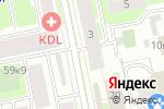 Схема проезда до компании Conrad в Санкт-Петербурге