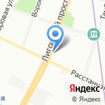 S-KERAMIKA на карте Санкт-Петербурга