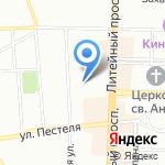 Консалко на карте Санкт-Петербурга