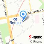 Лимончик на карте Санкт-Петербурга