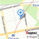 СИВЕЛ на карте Санкт-Петербурга
