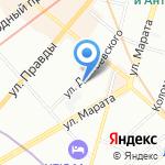 BROWZONE на карте Санкт-Петербурга