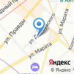 НьюСтэп на карте Санкт-Петербурга