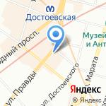 Фазан на карте Санкт-Петербурга