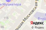 Схема проезда до компании Munhell в Санкт-Петербурге