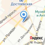 Ю-Мед на карте Санкт-Петербурга