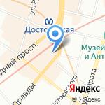 Vernisage на карте Санкт-Петербурга
