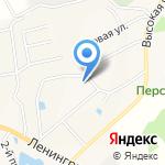 В созвучии с природой ребёнка на карте Санкт-Петербурга