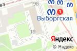 Схема проезда до компании Фиорд, ГК в Санкт-Петербурге