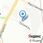 Клин Сервис на карте Санкт-Петербурга