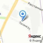 МИАКОМ НЕВА на карте Санкт-Петербурга