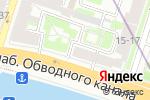 Схема проезда до компании ГлавПожСнаб в Санкт-Петербурге