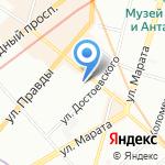 Семь холмов на карте Санкт-Петербурга