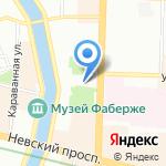 Всероссийский НИИ пищевых добавок на карте Санкт-Петербурга