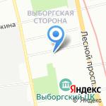 Эльба на карте Санкт-Петербурга