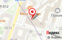 Схема проезда до компании Мир в Санкт-Петербурге