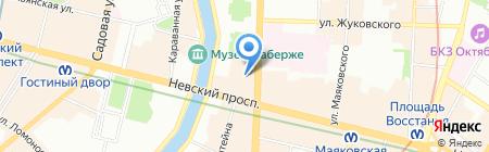 Гуд Трэвел на карте Санкт-Петербурга