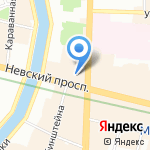 Адвокатская консультация №2 на карте Санкт-Петербурга