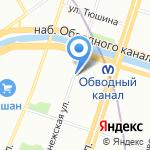 РоссКаргоТранс на карте Санкт-Петербурга